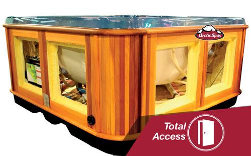 arctic spas feature spotlight: total access